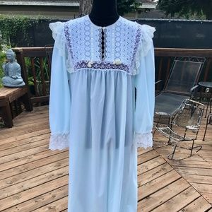 Vintage Christian Dior Mint Green Nightgown